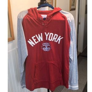 Mitchell & Ness Red Bull NY Lightweight Hoodie